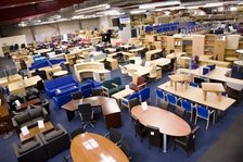 New Used Office Furniture Glasgow Desks Operator Chairs Filing Cabinets Delivery Installation Across Scotland